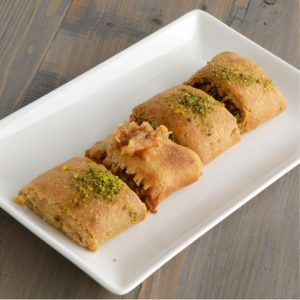 Sugar-free Whole Grain Sourdough Baklava