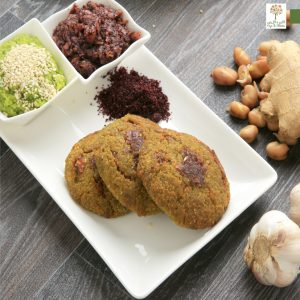 Sprouted Falafel made from