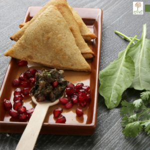 Whole Grain Sourdough Samosa