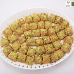 صواني حلويات رمضان الخالية من السكر