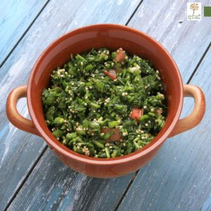 Sprouted Grain Salad