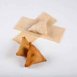 Gluten-Free whole Brown Rice Sourdough Samosa